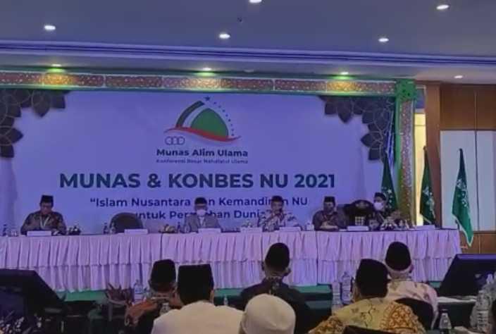 Munas Putuskan Muktamar Ke-34 NU Digelar 23-25 Desember 2021, Asalkan…